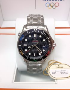 Omega Seamaster 300M 41mm 522.30.41.20.01.001 Olympic Collection RIO 2016 Limited Edition