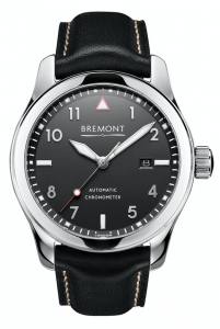 Bremont SOLO Black Polished