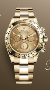 Rolex Daytona 116508 Yellow Gold Unworn