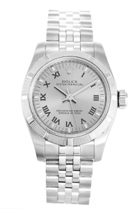 Rolex Oyster Perpetual 176210 26mm Silver Dial