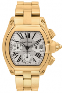 Cartier Roadster Chronograph W62021Y2 Yellow Gold