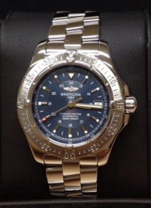 Breitling Colt Automatic A17380 Blue Dial