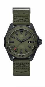 Tag Heuer Aquaracer WAY208E Green Dial Automatic