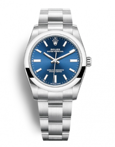 Rolex Oyster Perpetual 34 124200 Blue Dial
