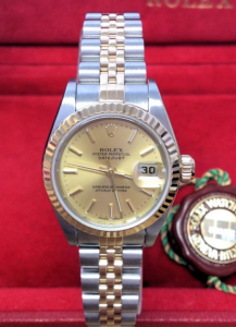 Rolex Datejust 26mm 79173 Champagne Baton