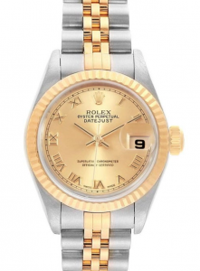 Rolex Datejust 26mm 79173 Champagne Roman