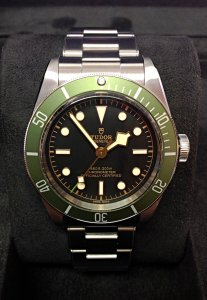 Tudor Heritage Black Bay 79230G Harrods Green