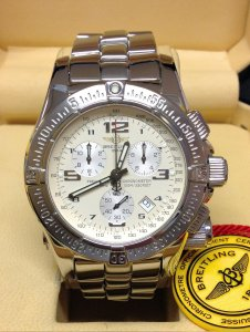 Breitling Emergency Mission A73321 White/Cream Dial