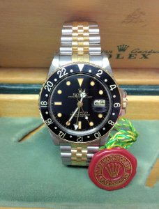 Rolex GMT Master 16753 Bi/Colour From 1986
