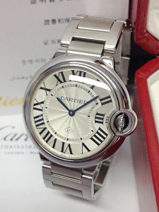 Cartier Ballon Bleu W69011Z4 36mm Quartz