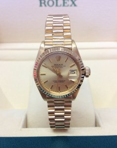 Rolex Datejust Ladies 26mm 6917 Yellow Gold 1974