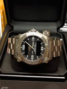 Breitling Emergency E76321 Black Dial