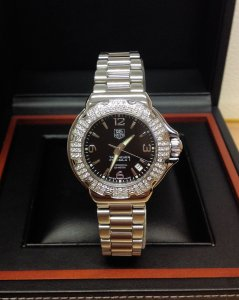 Tag Heuer Formula 1 WAC1216 37mm Diamond Bezel
