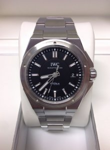 watch 1a300 22133 IWC Ingenieur IW323902 40mm Black Dial