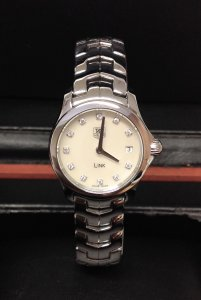 Tag Heuer Link WJF1414 Ladies M.O.P Diamond Dial