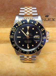 Rolex GMT Master 1675/3 Bi/Colour Nipple Dial 1978
