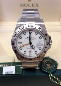 Rolex Explorer II 216570 42mm White Dial