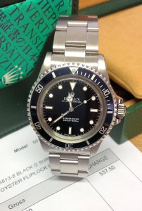 Rolex Submariner Non-Date 5513 From 1967