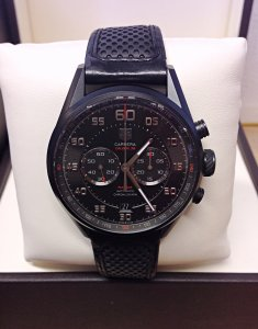 Tag Heuer Carrera Calibre 36 CAR2B80 Black Titanium