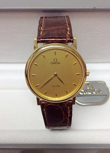 Omega De Ville Classic 7300.11.00 Yellow Gold