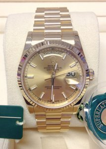 Rolex Day-Date 118238 Yellow Gold 36mm