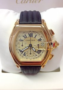 Cartier Roadster Chronograph W62021Y3 Yellow Gold
