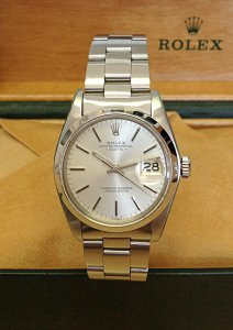 Rolex Oyster Perpetual Date 1500 34mm