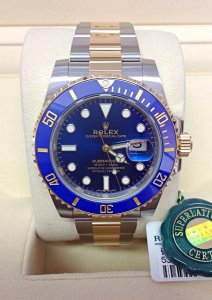 Rolex Submariner Date 116613LB Bi/Colour Unworn