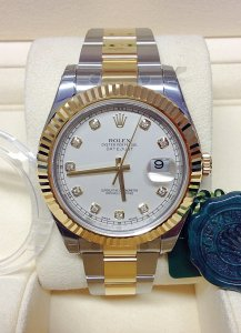 Rolex Datejust II 116333 Bi/Colour Diamond Unworn