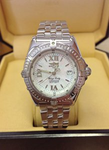 Breitling Wings Lady A67350 M.O.P. Dial