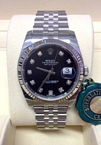 Rolex Datejust 36mm 116234 Black Diamond