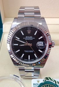 Rolex Datejust 41mm 126334 Black Dial Unworn