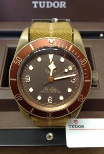 Tudor Heritage Black Bay 79250BM Bronze 43mm