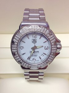Tag Heuer Formula 1 WAC1215-0 37mm Diamond Bezel