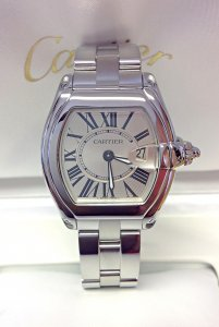 Cartier Roadster W62016V3 Ladies 36.5mm