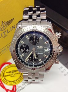Breitling Chronomat Evolution A13356 Grey Dial
