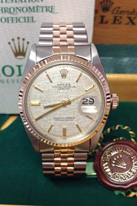 Rolex Datejust 1601 36mm Steel & Rose Gold