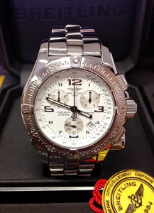 Breitling Emergency Mission A73321 White Dial