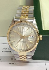 Rolex Datejust 16013 36mm Bi/Colour