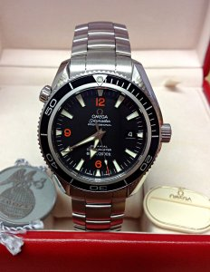 Omega Planet Ocean 2201.51.00 42mm Black Bezel