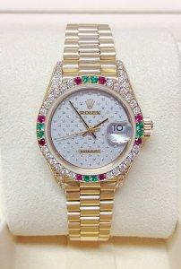 Rolex Datejust Lady 69038SA 26mm Crown Collection