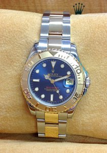 Rolex Yacht-Master 68623 35mm Bi/Colour Blue