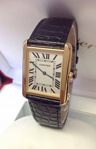 Cartier Tank Solo W5200002 Yellow Gold