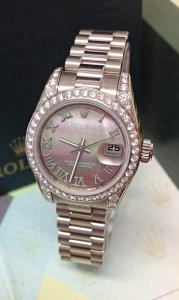 Rolex Datejust Lady 179159 26mm White Gold