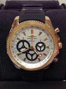 Breitling For Bentley R25366 Barnato Racing Rose Gold