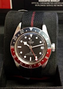 Tudor Heritage Black Bay GMT 79830RB Pepsi