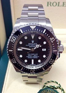 Rolex Deepsea Sea-Dweller 116660 Black Dial