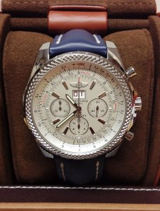 Breitling for Bentley 6.75 A44362 Silver Dial