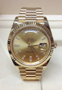 Rolex Day-Date 40 228238 Yellow Gold