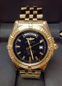 Breitling Headwind K45355 Yellow Gold